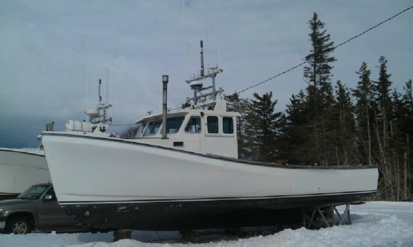 Florence g for you fishing lobster boat for sale for Commercial fishing boats for sale by owner