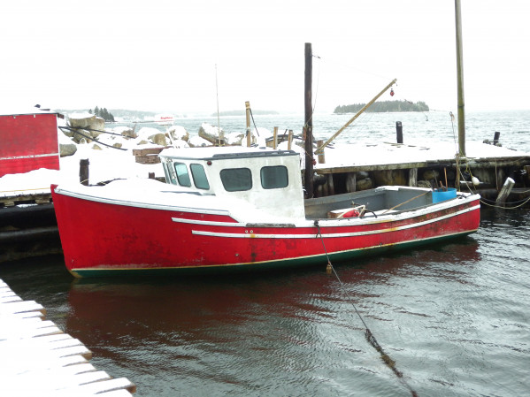 fishing boat Lobster for sale 27745.JPG